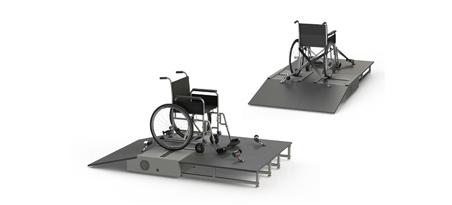 Wheelchair ergometer
