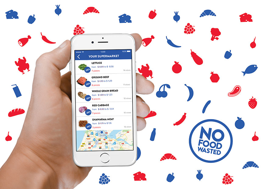 NoFoodWasted app