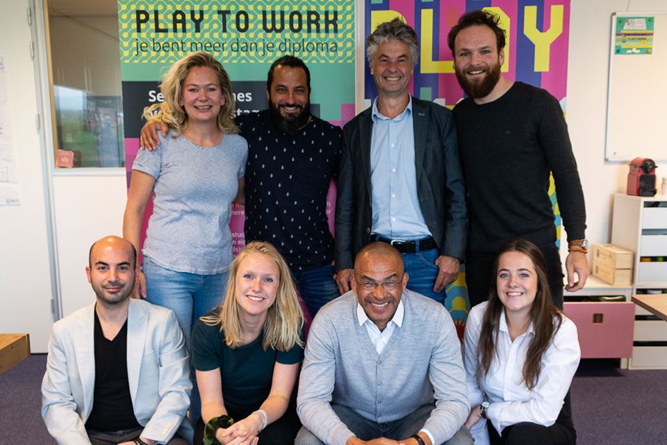 Teamfoto PlaytoWork