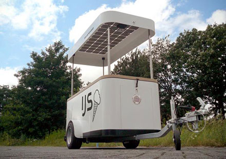 Solar Ice Cream Cart
