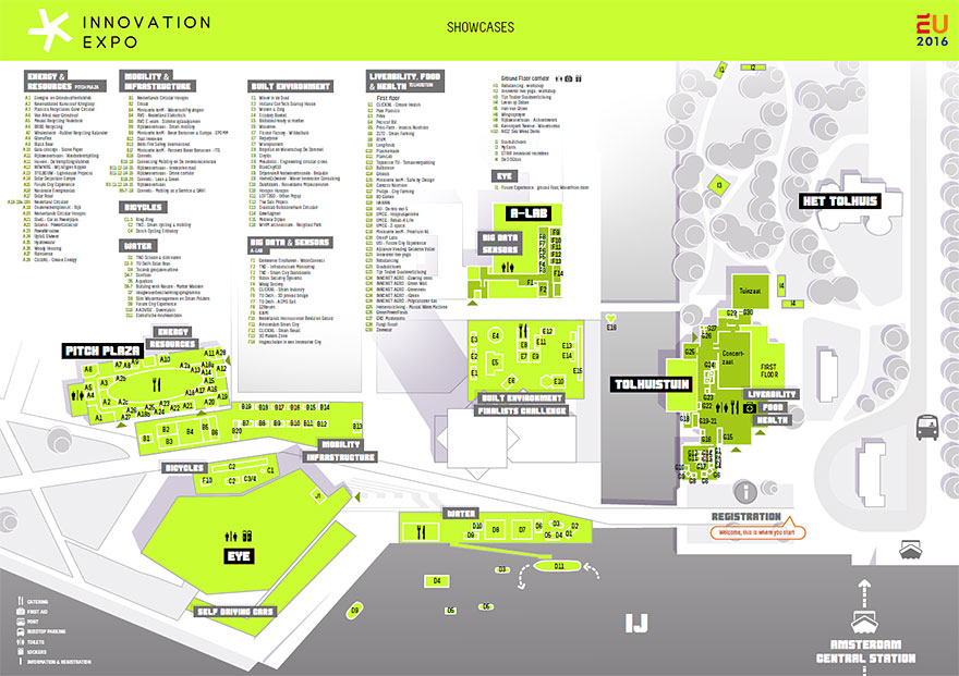 Plattegrond Innovation Expo