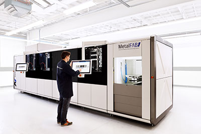 Geintegreerde 3D metaalprinter