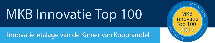 Banner genomineerd voor de MKB Innovatie Top 100 van 2017
