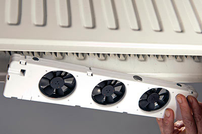 SpeedComfort, radiator ventilator